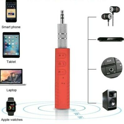 Wireless Car Bluetooth Receiver 3.5mm AUX Music Stereo Audio Adapter Handsfree