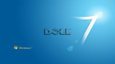 BOOTABLE Dell Windows 7 New Installation Disc Self Activating