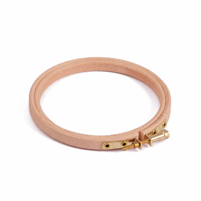 "Traditional Quality BEECH BRASS Embroidery Hoop Ring 4 5 6 7 8 9 10 12"" BUY 1 2"