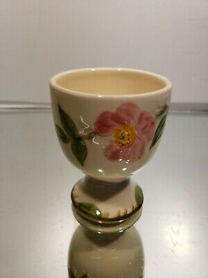Franciscan Desert Rose EGG CUP - Earthenware USA  - pink flower - hand painted