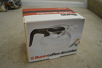 New in Box Vintage Bunn Glass Coffee Decanter For Easy Pour Coffee Maker