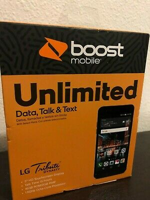 BRAND NEW BOOST Mobile LG Tribute Dynasty 4G LTE with 16GB Cell