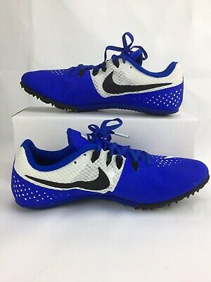 76176988b70 NIKE ZOOM RIVAL S8 Size 13 Men's Racing Sprint Running Shoes Blue ...