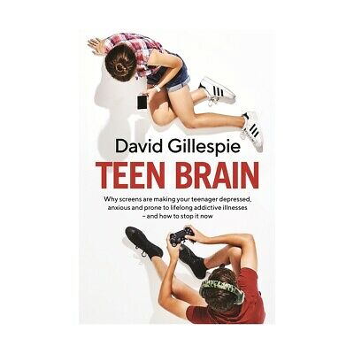 NEW Teen Brain by David Gillespie Paperback FREE Shipping