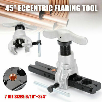 45 Degree Eccentric Cone Tool Refrigeration Copper Tube Flare Tool Kit Practical