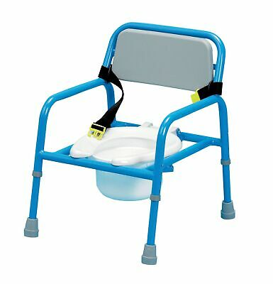 Homecraft Adjustable Paediatric Commode, Brightly Coloured Children's Toilet ...