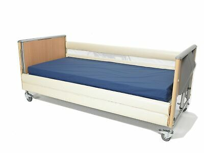 NRS Healthcare Bumpers for Wooden Bed Rails with Two Bars - Set (Eligible for...