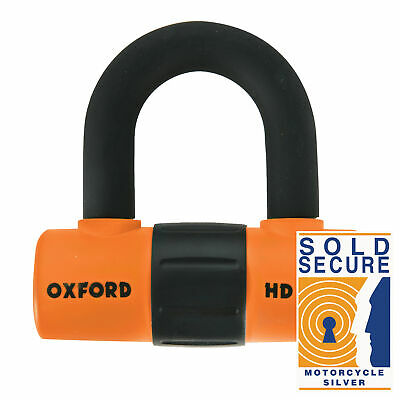 Oxford HD Max Disc Lock Orange