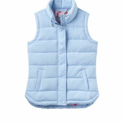 """Joules """"Eastleigh"""" Padded Gilet - Light Blue- size 10"""