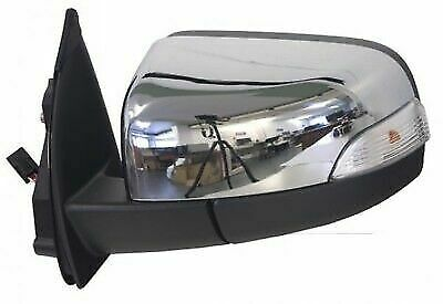2//2006-2011 Door//Wing Mirror Chrome Electric R//H For Ford Ranger ER61 2.5TD