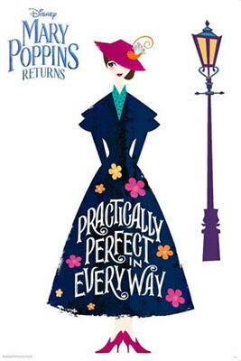 Mary Poppins Returns - Practically Perfect POSTER 61x91cm NEW