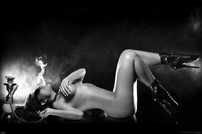 Hookah Girl POSTER 61x91cm NEW