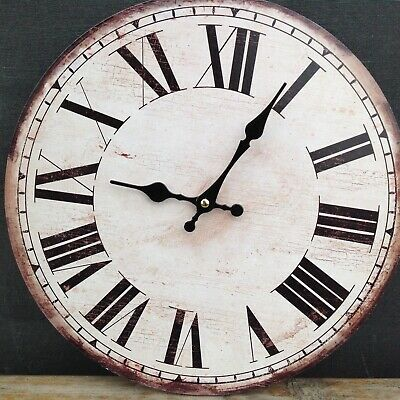 Old looking modern wall clock