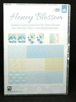 Tattered Lace My Craft Studio USB - Honey Blossom Backgrounds Toppers Free P&P