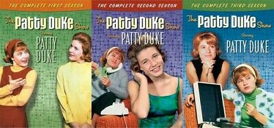 THE PATTY DUKE SHOW COMPLETE TV SERIES SEASONS 1 2 3 + REUNION MOVIE New DVD