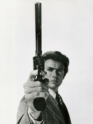VINTAGE CLINT EASTWOOD DIRTY HARRY 44 MAGNUM POSTER Art Fabric HD PRINT Decor