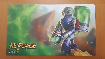 Keyforge 2019 Season One Playmat Mars + Set Key Cards + Chain Tracker + Deck Box