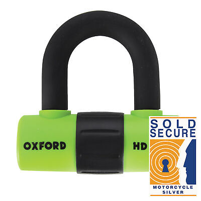 Oxford HD Steel Max Disc Lock Green