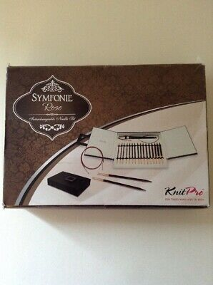 KnitPro Symfonie Rose Interchangeable Knitting Needle Deluxe Set