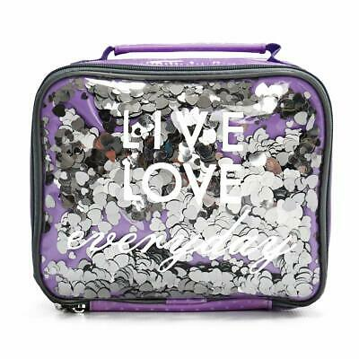 0e43f979e472 KID LUNCH BOXES by Silverflye- Girls Insulated Lunch Box- Quality Lead Free  Zipp
