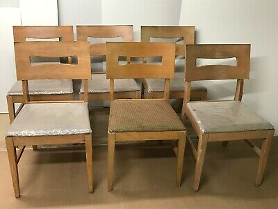 Vintage Stanley Furniture Co Mid Century Modern Chairs Set