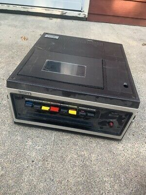 "Sony VO-3800  3/4"" UMatic Videocassette Recorder Untested"