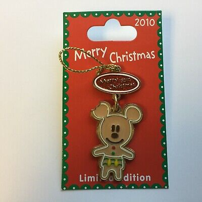 DLR - Merry Christmas 2010 - Gingerbread - Mickey Mouse LE 500 Disney Pin 80652