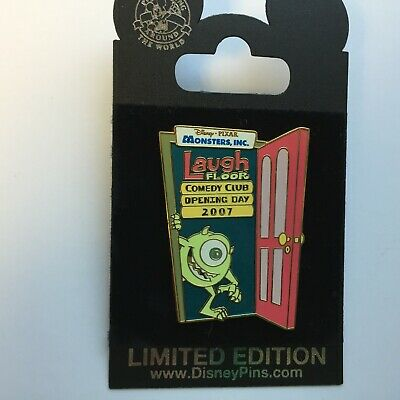 Pixar's Monsters, Inc. Laugh Floor Attraction - Opening 2007 LE Disney Pin 53165