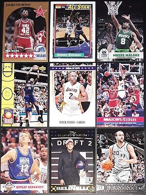 1989-2019 NBA Basketball Sport Cards - Pick Your Card (1-483) - All Brands
