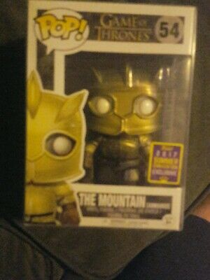 Funko POP! The Mountain Armored #54 Summer Convention Exclusive w/ Pop Protector