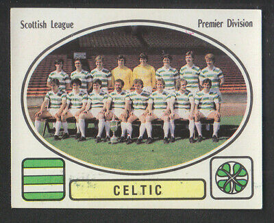 Panini - Football 82 - # 432 Celtic Team Group