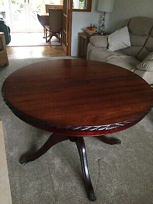 Pleasant Vintage Extending Solid Wood Dining Room Table And Chairs By Bralicious Painted Fabric Chair Ideas Braliciousco