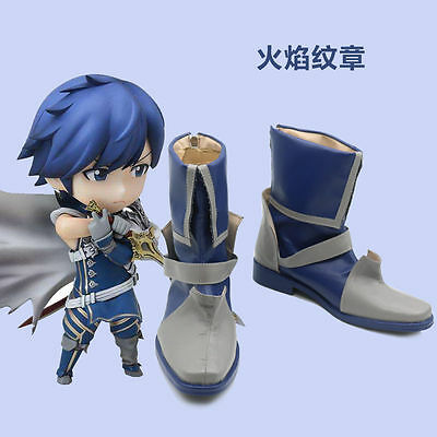 Fire Emblem New Mystery of the Emblem Lodestar Marth Game Cosplay shoes costom :