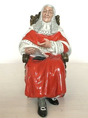 Royal Doulton Figurine The Judge HN 2443 : Perfect