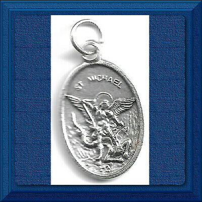"""🕊 Catholic 1"""" Medal 🕊 Saint Michael Guardian Angel Patron Of Daily Assistance"""