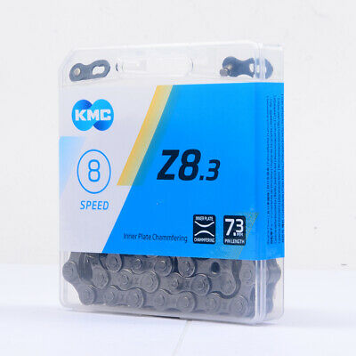 """KMC Z33 Bicycle Chain 18 Speed Touring Non-Index 1//2/"""" x 3//32/"""" 116 Links Qty 2"""