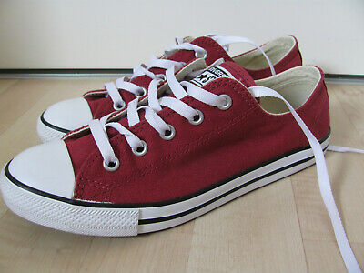 CONVERSE ALL STAR Low Gr. 37,5 coole weinrote Chucks Sneaker
