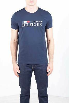 TOMMY HILFIGER T SHIRT Blu In Cotone Biologico Tommy Jeans