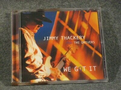 JIMMY THACKERY & the Drivers-We Got It CD, KILLER BLUES!!