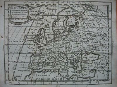 c1750 - BUFFIER - Small map EUROPE