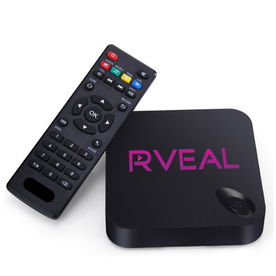 Rveal 1 Streaming Media Player & Android Smart TV Box