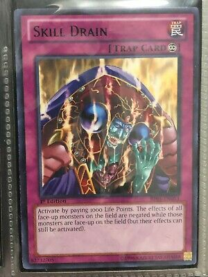 Skill Drain (Rare) 1st Edition Near Mint BP02