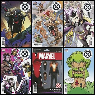 POWERS OF X #5 *NEW 2019 MARVEL COMIC* PREORDER 9/25 - Six Cover Variant Set!