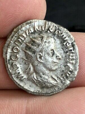 Roman Coins GORDIAN III 239AD Rome Authentic Genuine Ancient Silver Roman Coin