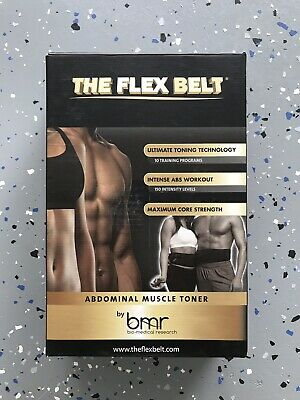 The Flex Belt - Abdominal Muscle Toner - ABS Workout