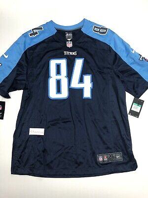 2a8c389c NIKE TENNESSEE TITANS Corey Davis #84 On Field Game Jersey Men's ...