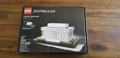 1 LEGO ARCHITECTURE LINCOLN MEMORIAL 1x6 PLATE//TILE