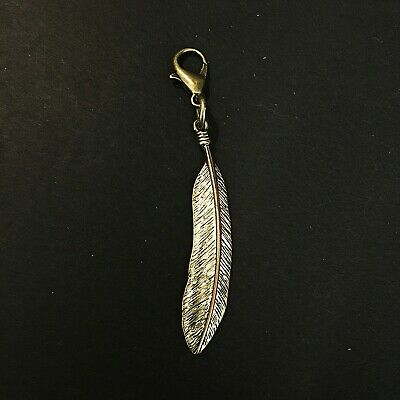 Pagan Clip On Charm Bronze Tone for Bracelets Anklets Witch Wicca Jewellery
