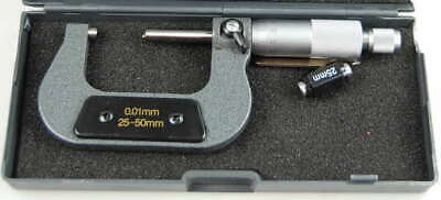 25 - -50 mm Engineers  Metric Micrometer  with carbide Faces