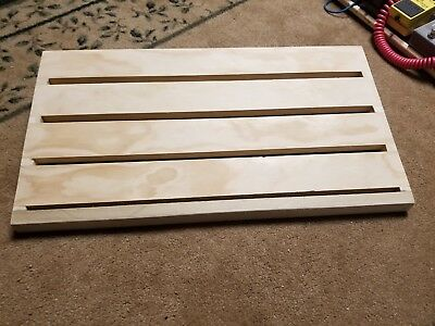 "Custom Guitar / Bass Pedal Board - 12"" x 24"" Size"
